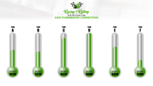 Event Fundraising Thermometer