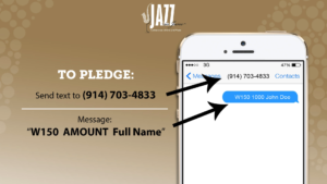 Event Text to Give Text to Pledge Text to Donate
